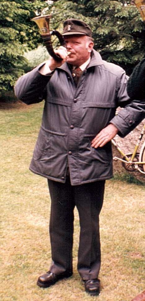 Leo Buchholz mit seinem FürstPlessHorn